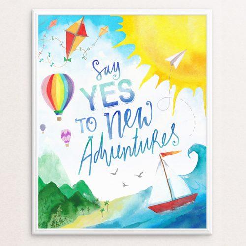 Adventures 8x10 Print